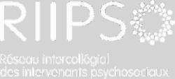 logo RIIPSO en blanc